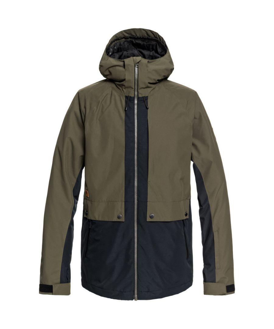 Image for Quiksilver Mens TR Ambition Warm Snow Ski Parka Jacket