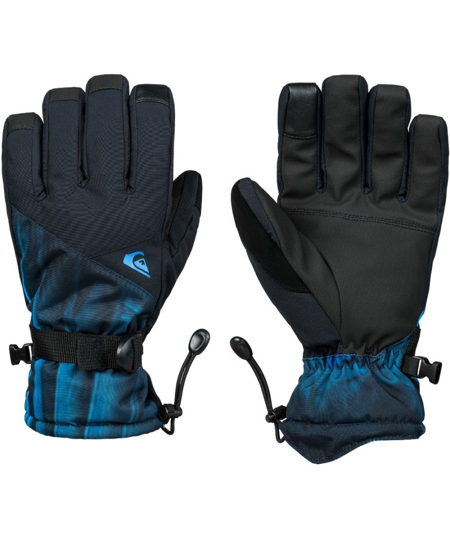 Image for Quiksilver Mens Mission Insulated Ski Snowboard Gloves
