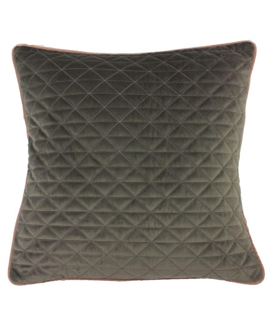 Image for Quartz 45X45 Poly Cushion Charc/Bls