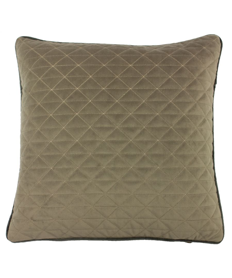 Image for Quartz 45X45 Poly Cushion Taupe/Cha