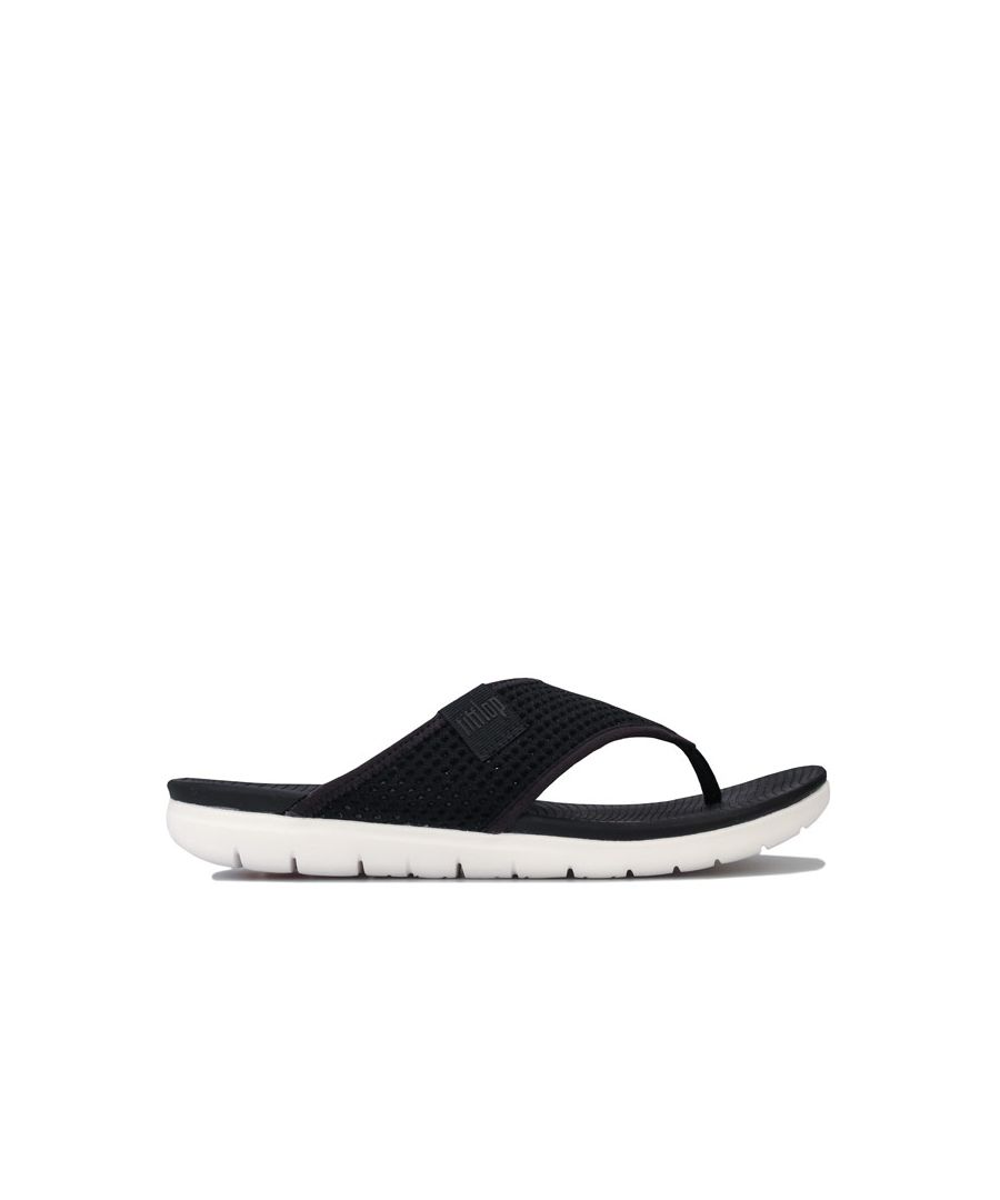 Image for Women's Fit Flop Airmesh Toe Thong Sandals in Black