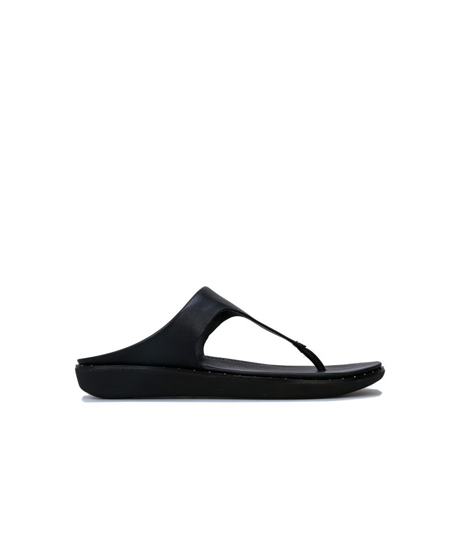 Image for Women's Fit Flop Banda II Toe Thong Sandals in Black