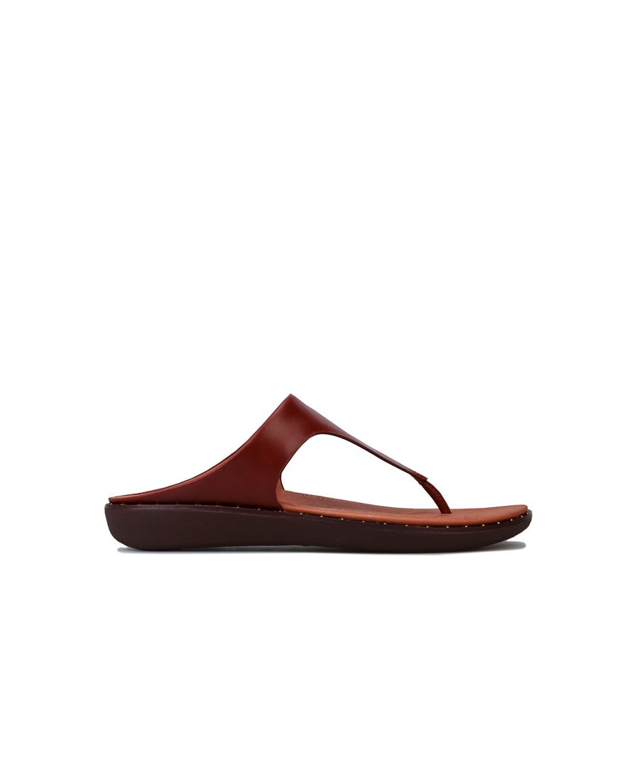 Image for Women's Fit Flop Banda II Toe Thong Sandals in Cognac