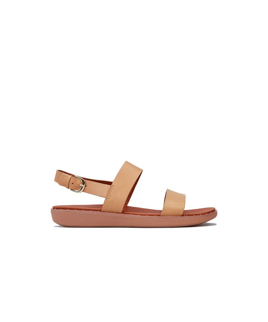 Image for Women's Fit Flop Barra Back Strap Sandals in Nude