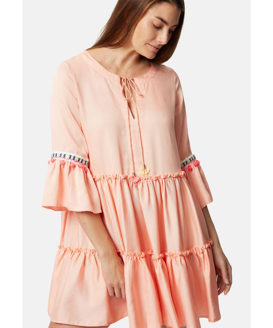 Image for Mini Dew Dress in Pink
