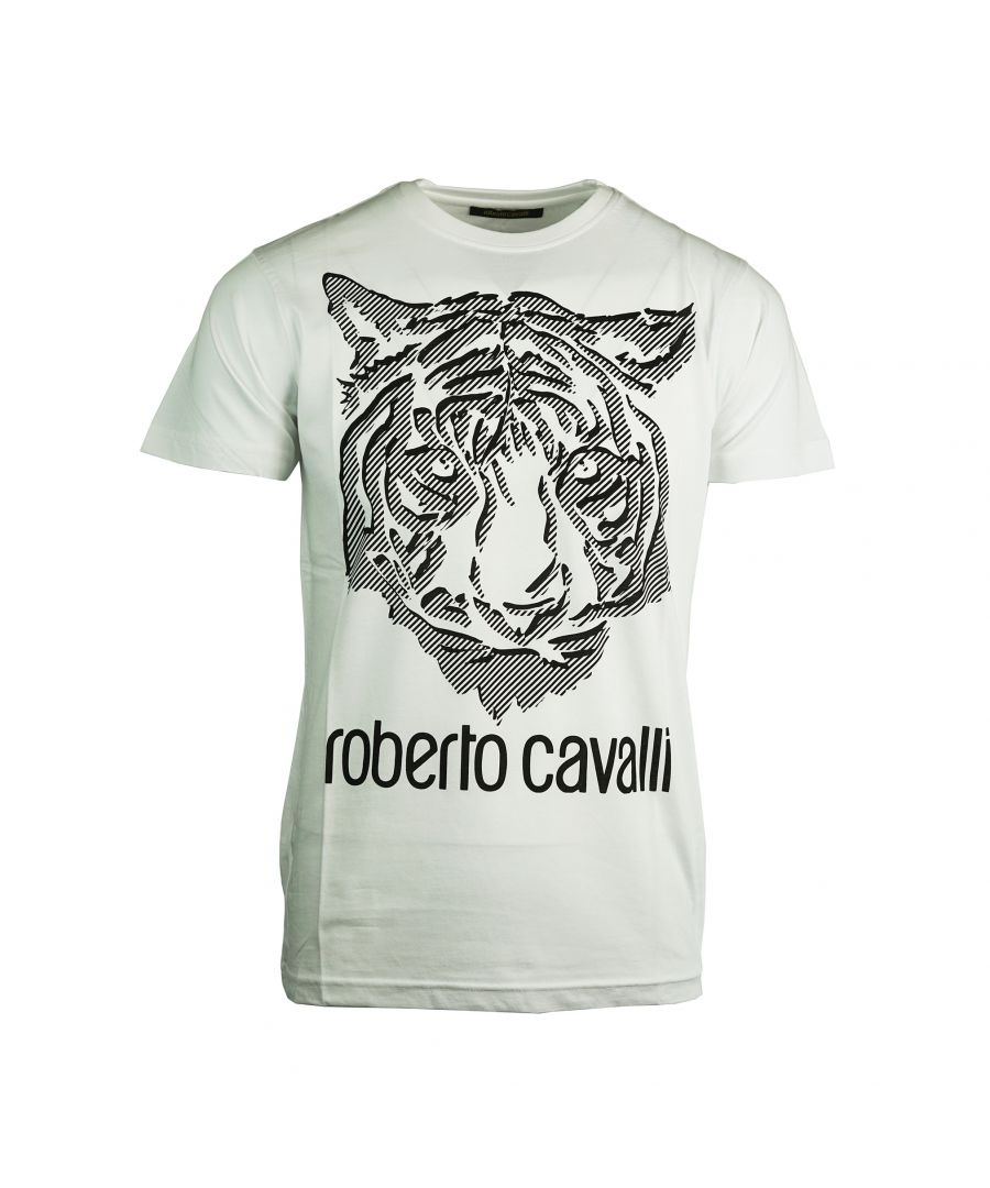 Image for Roberto Cavalli FST612 00001 T-Shirt