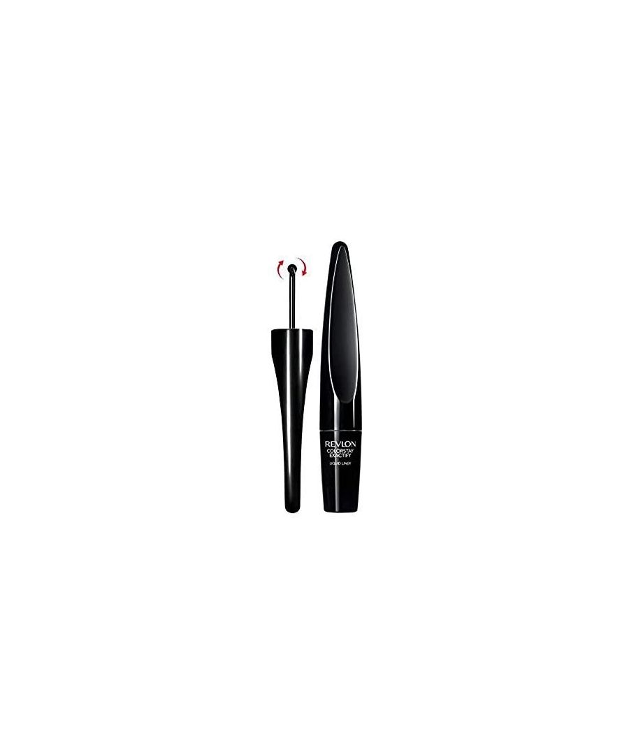 Image for Revlon Colorstay Exactify Liquid Eye Liner, 1.0ml - Intense Black