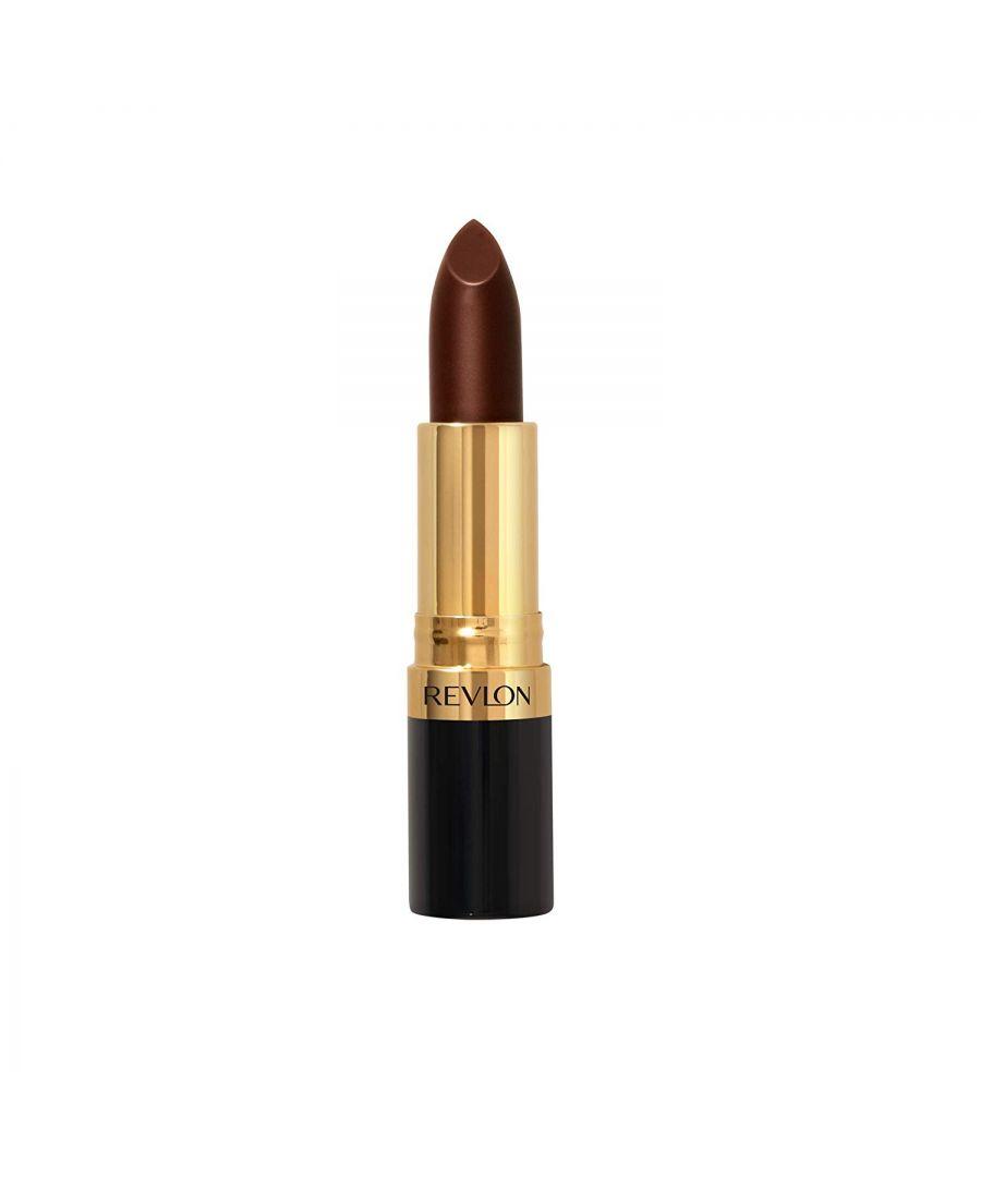 Image for Revlon Super Lustrous Crème Lipstick 4.2g -   665 Choco-Liscious