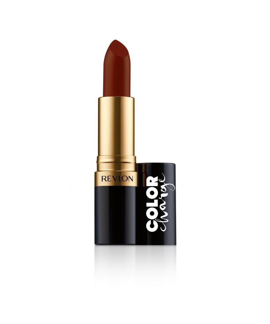 Image for Revlon Super Lustrous Color Charge Lipstick 4.2g - 029 Dark Scarlet