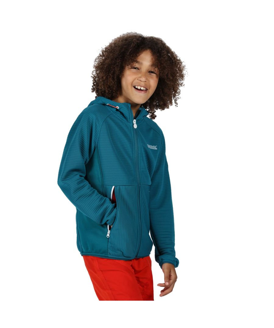 Image for Regatta Boys Jenning Full Zip Hooded Fleece Jacket