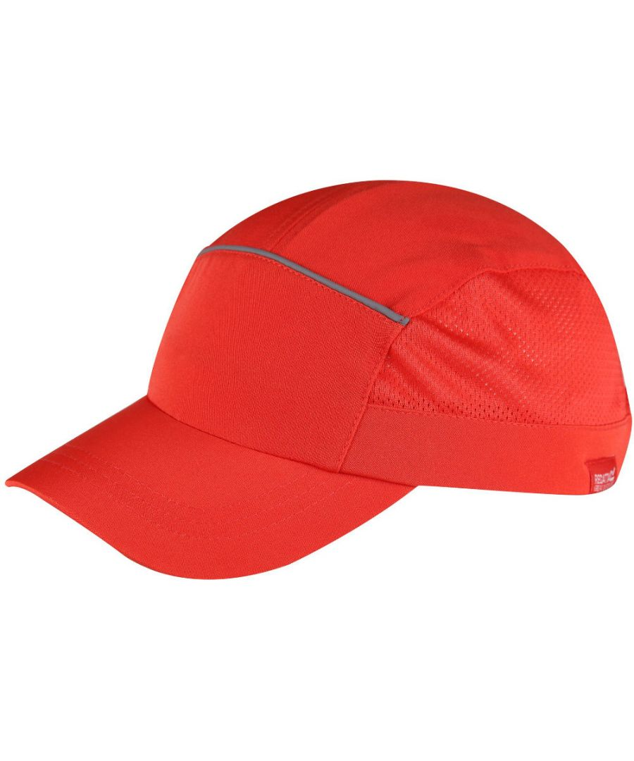Image for Regatta Boys Shadie Polyester Reflective Baseball Cap
