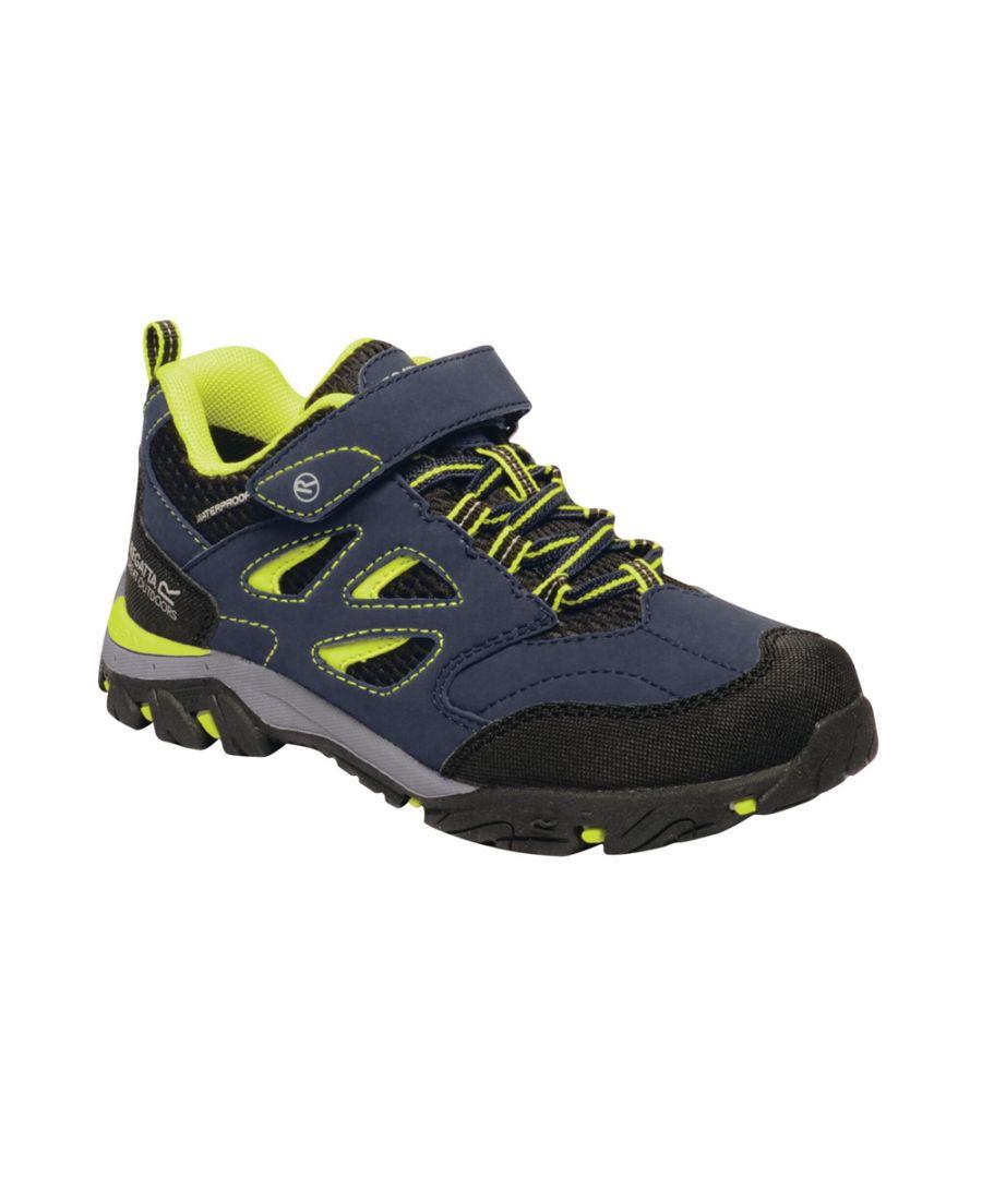 Image for Regatta Boys Holcombe IEP Waterproof Walking Shoes