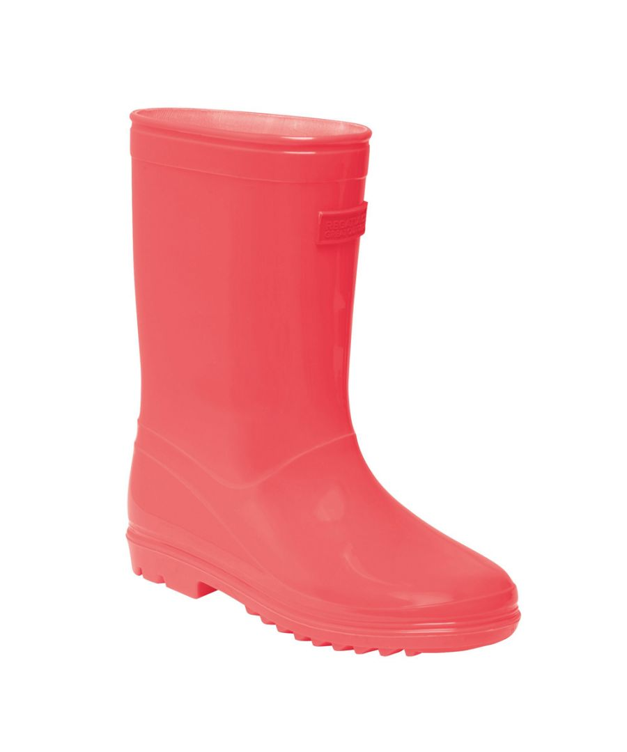 Image for Regatta Boys Wenlock Junior PVC Waterproof Wellingtons