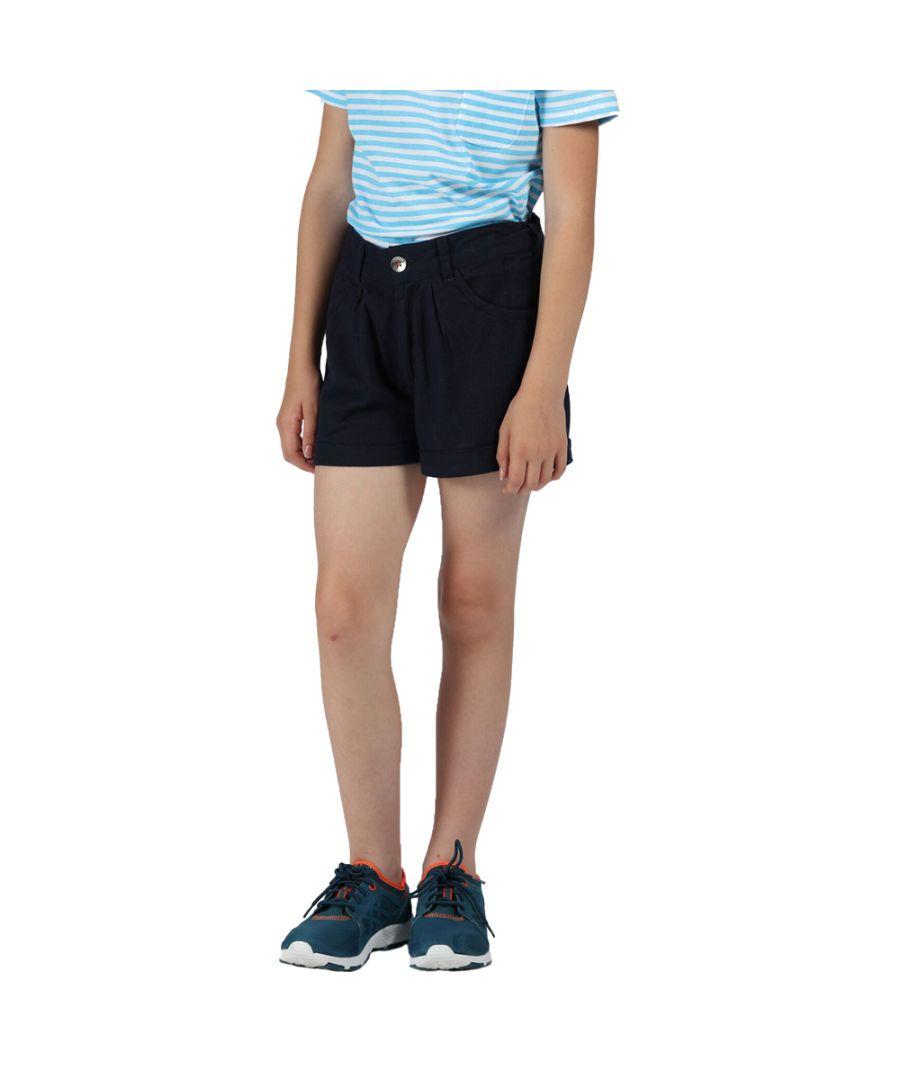 Image for Regatta Girls Delicia Cotton Casual Shorts