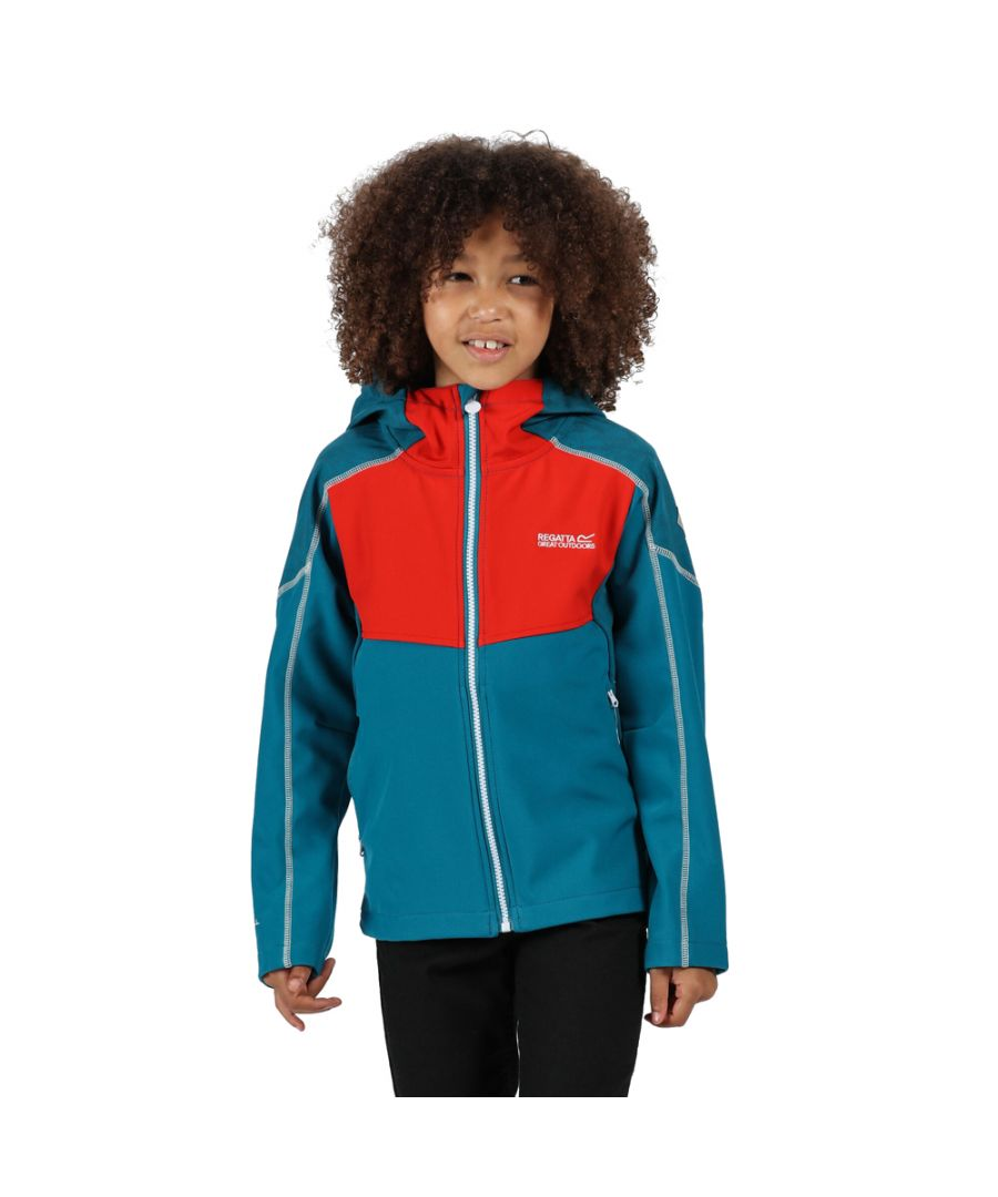 Image for Regatta Boys Acidity IV Polyester Softshell Jacket