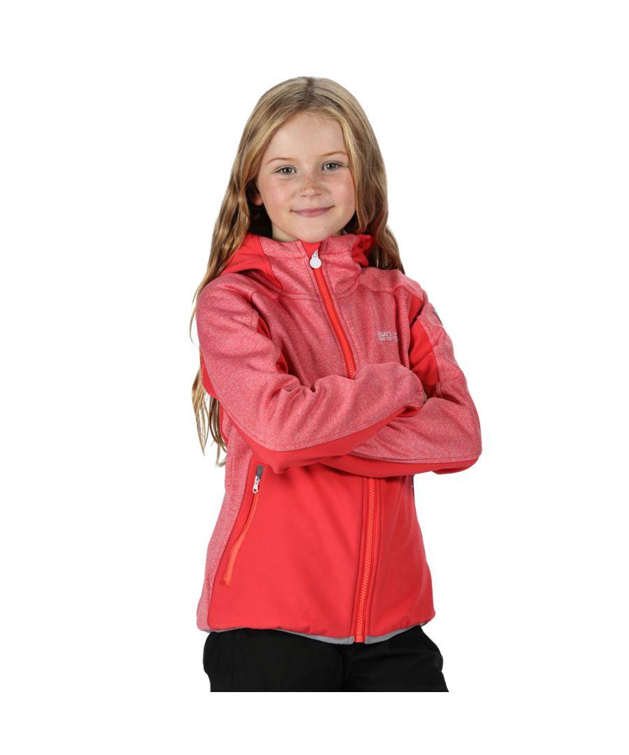 Image for Regatta Boys Bracknell II Polyester Softshell Jacket