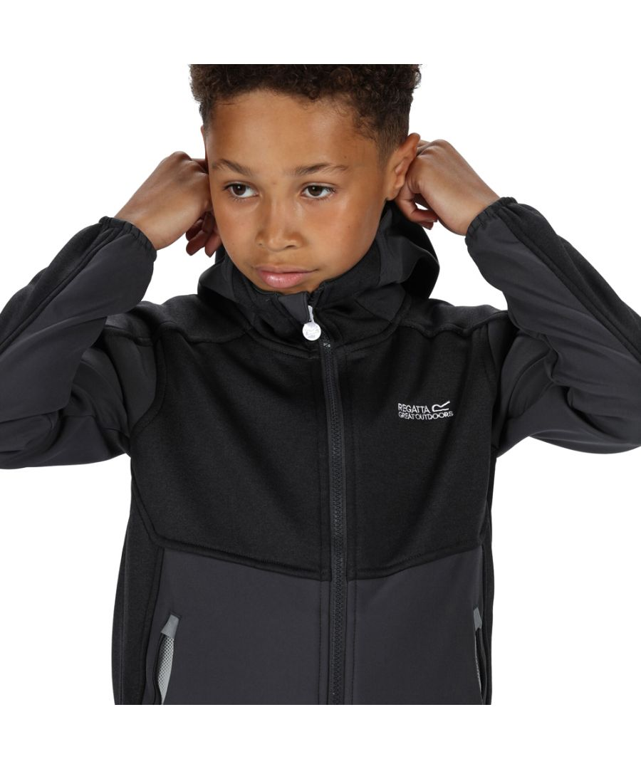 Image for Regatta Boys Bracknell II Polyester Softshell Jacket