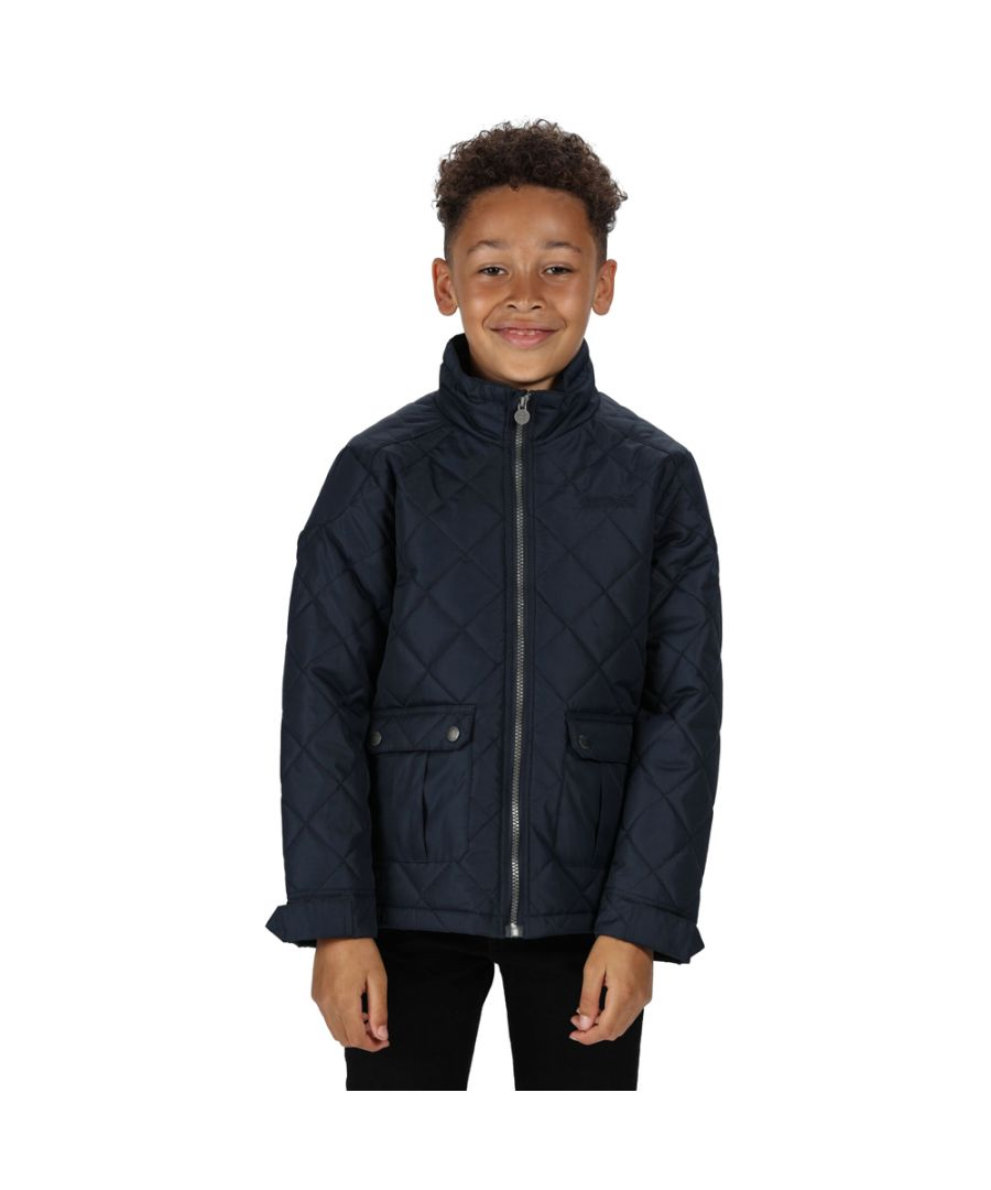 Image for Regatta Boys Zion Polyester Casual Quilted Country Jacket