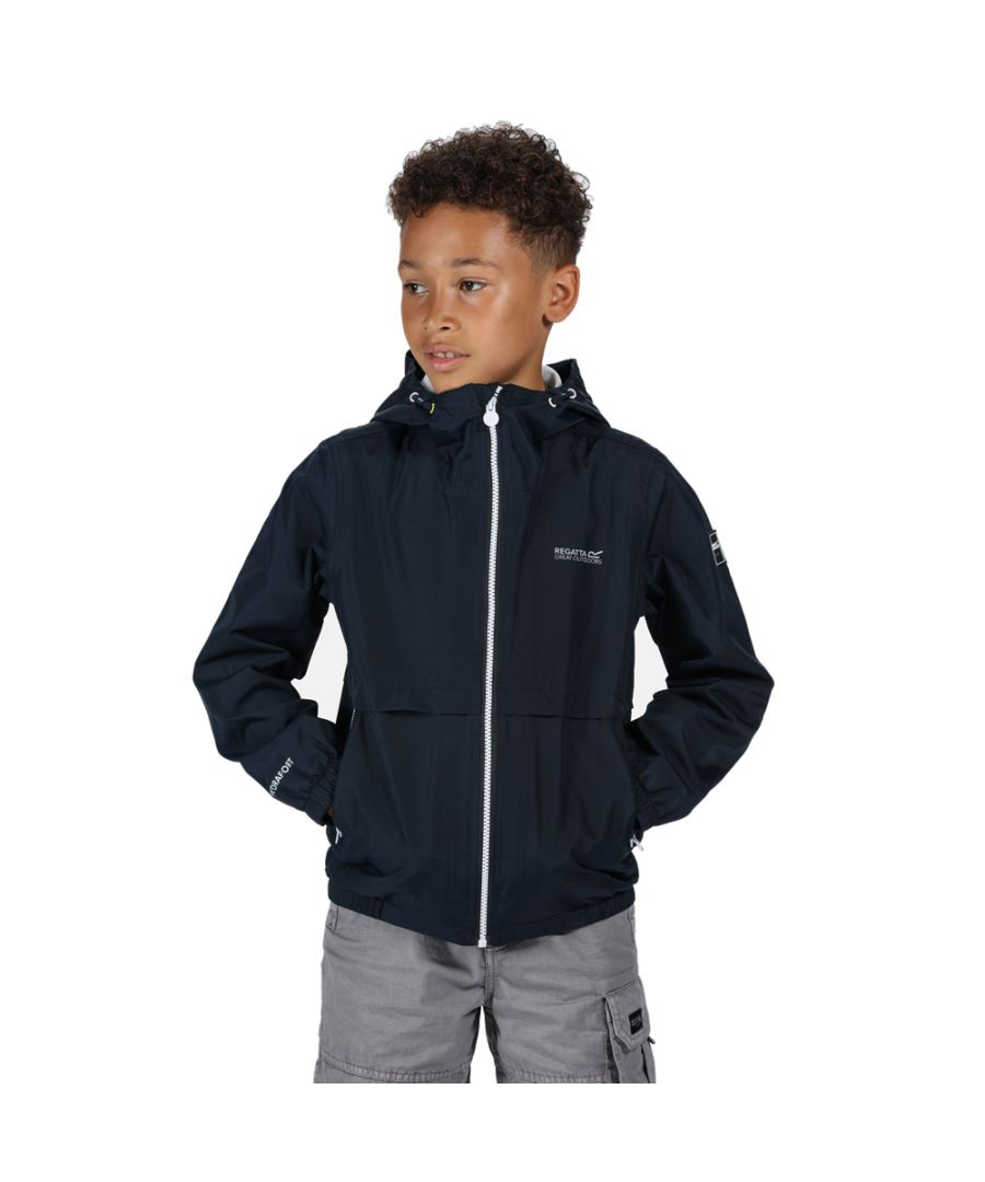 Image for Regatta Boys Haskel Polyester Waterproof Hydrafort Jacket
