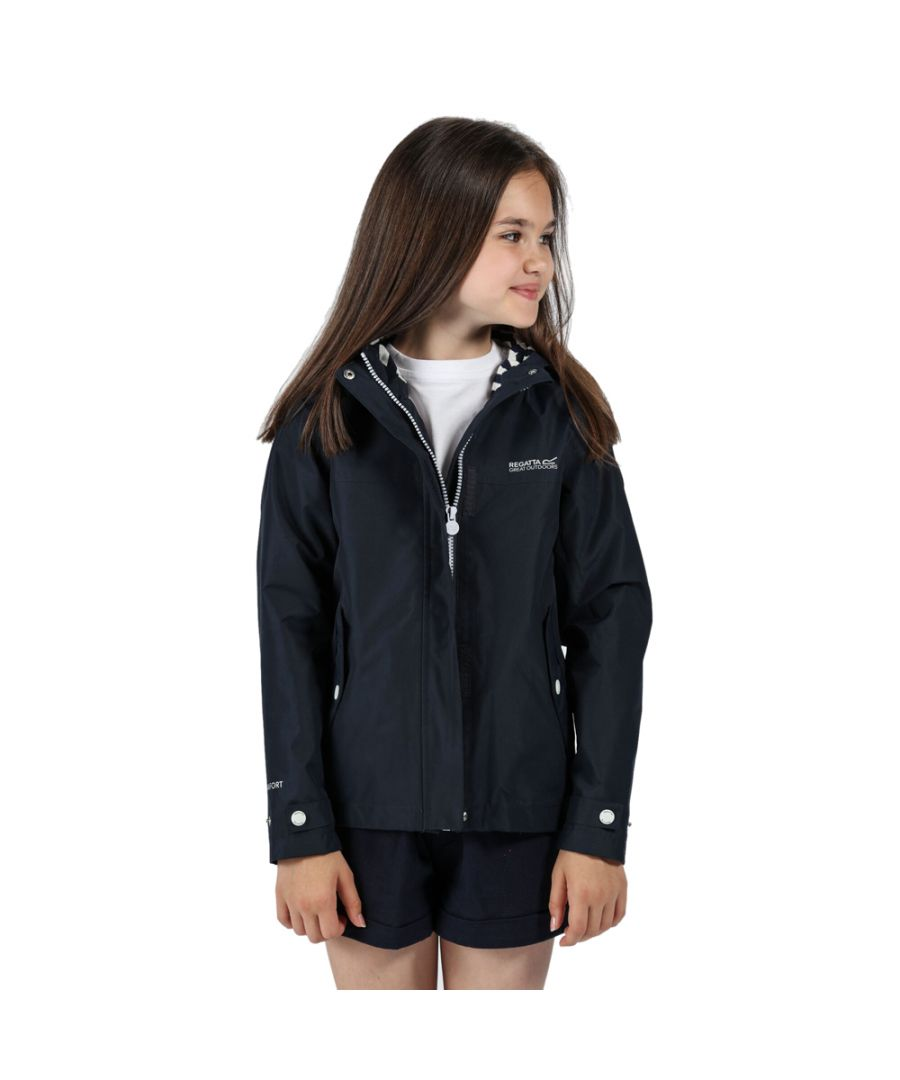 Image for Regatta Girls Bibiana Polyester Waterproof Hydrafort Jacket