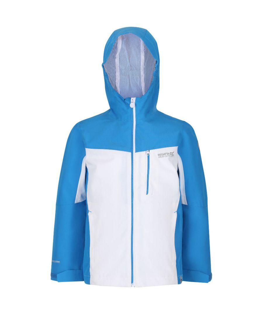 Image for Regatta Boys Highton Polyester Waterproof Breathable Jacket