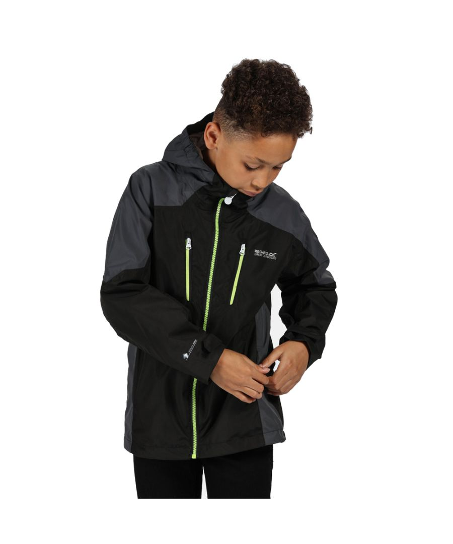 Image for Regatta Boys Calderdale Waterproof Breathable Jacket