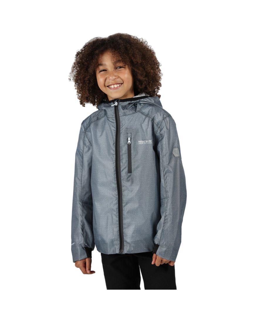 Image for Regatta Boys Hydroid Polyester Waterproof Hyrdafort Jacket