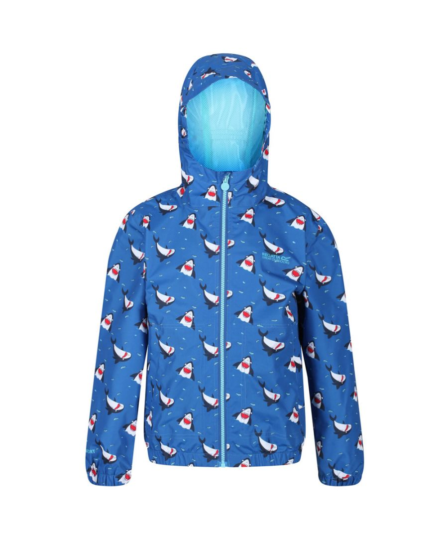 Image for Regatta Boys Ellison Polyester Waterproof Hydrafort Jacket