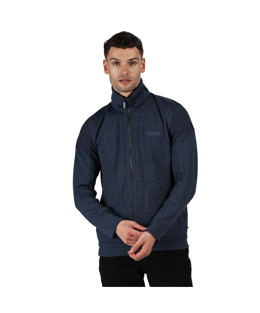 Image for Regatta Mens Carlyle Polyester Full Zip Fleece Jacket