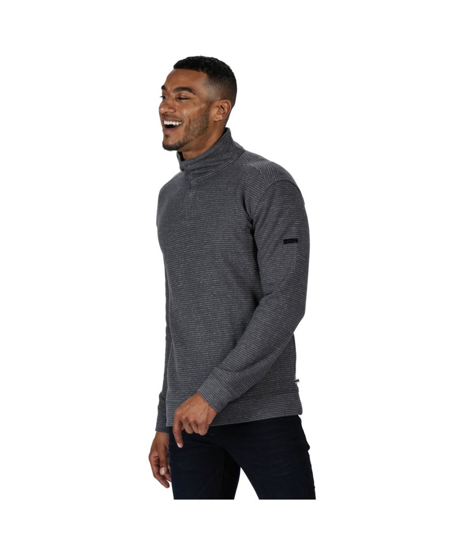 Image for Regatta Mens Theon Cotton Outdoor Fleece Sweater