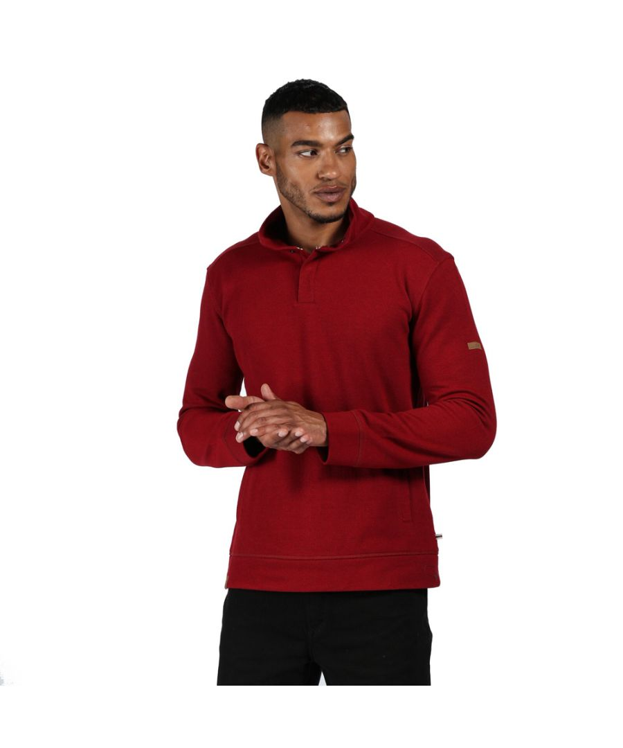 Image for Regatta Mens Theon Cotton Outdoor Fleece Sweater
