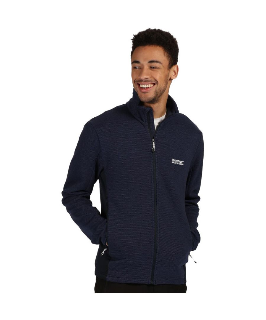 Image for Regatta Mens Highton Cotton Zip Fleece Jacket