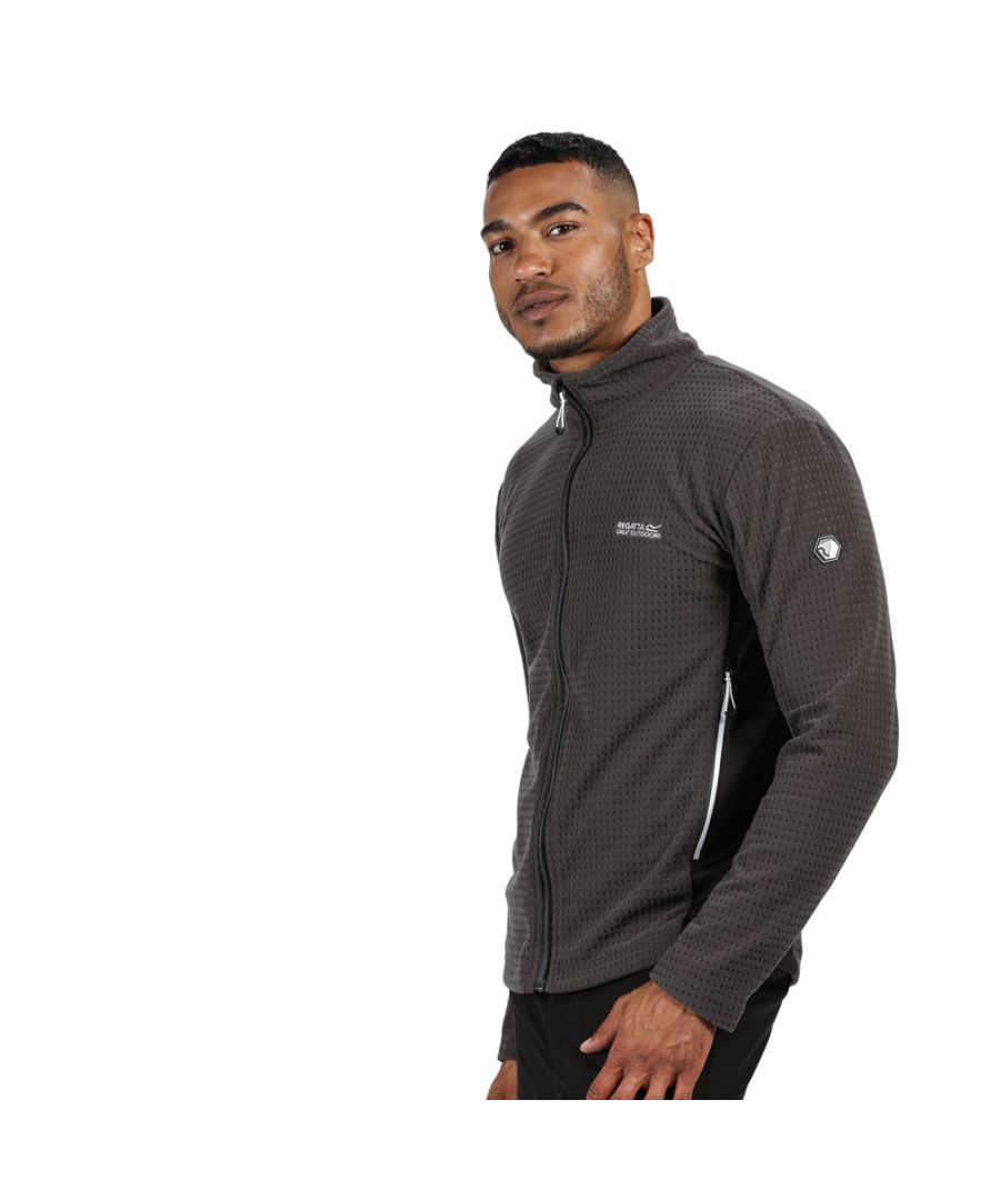 Image for Regatta Mens Highton Cotton Full Zip Fleece Jacket