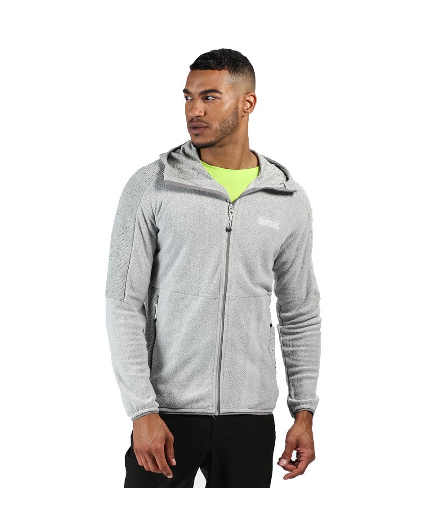 Image for Regatta Mens Madagascar Full Zip Hooded Fleece Jacket