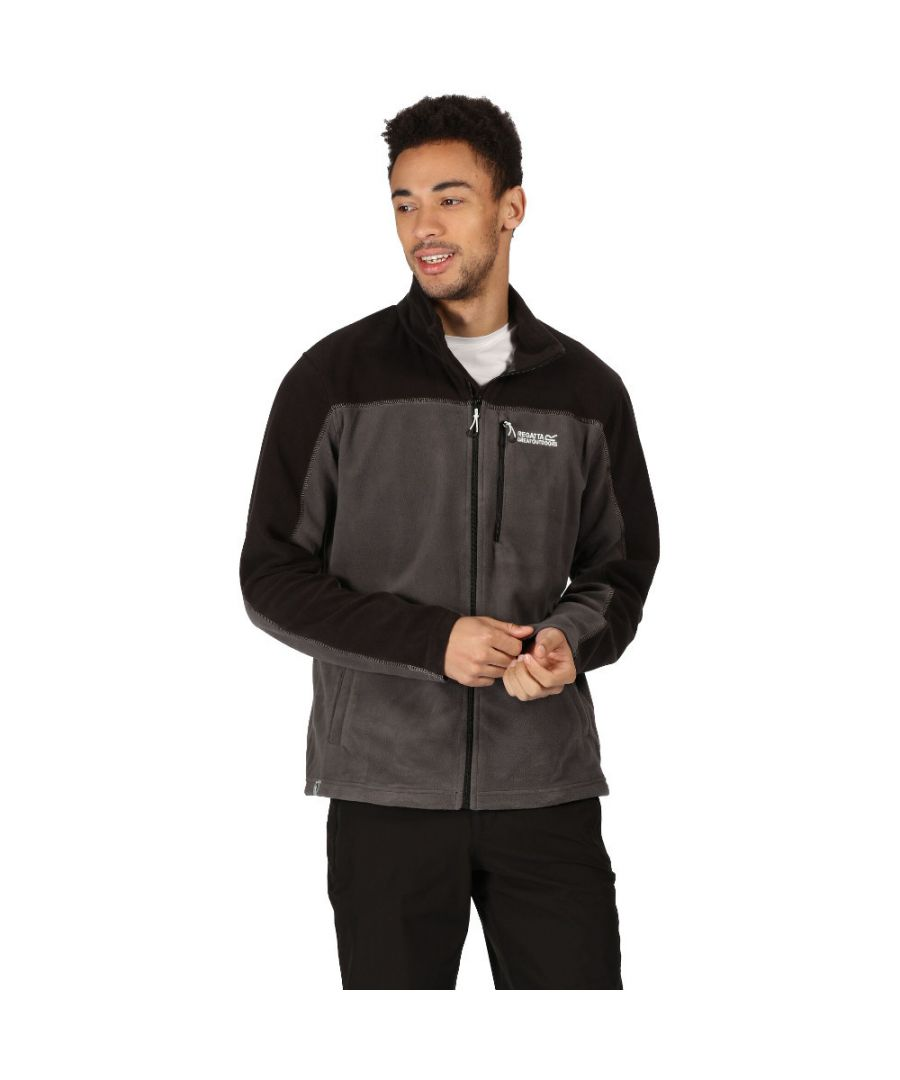 Image for Regatta Mens Fellard Polyester Outdoor Fleece Jacket