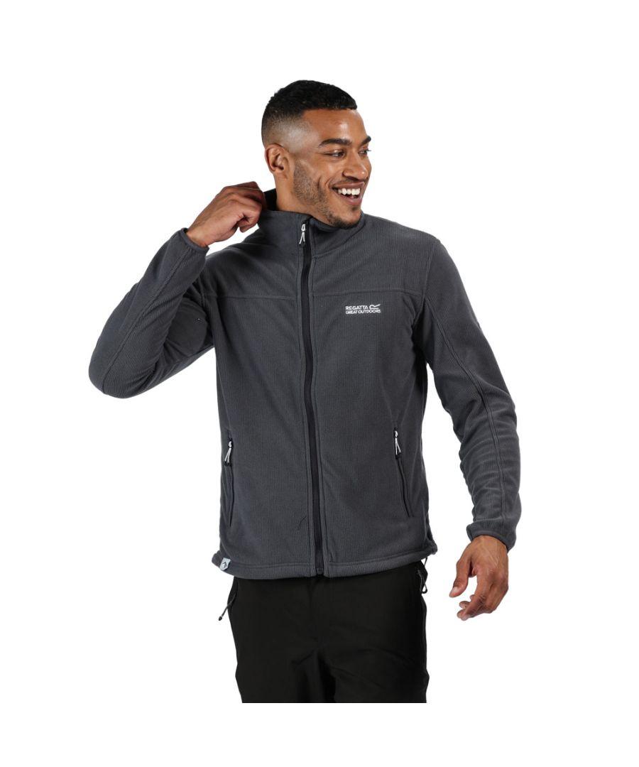 Image for Regatta Mens Stanner Polyester Full Zip Fleece Jacket
