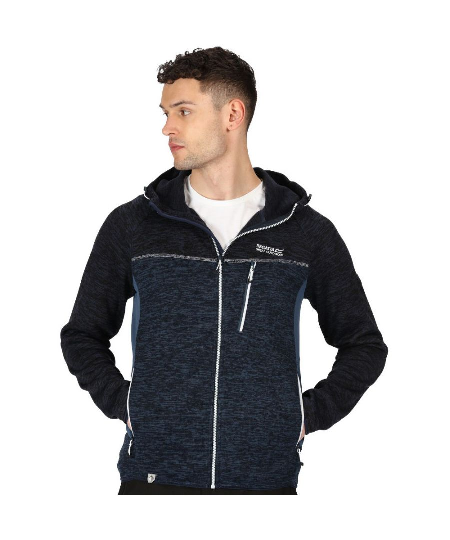 Image for Regatta Mens Cartersville VII Full Zip Fleece Hooded Jacket