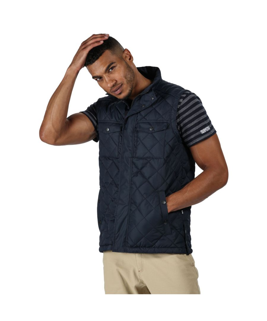 Image for Regatta Mens Lleyton Polyester Casual Bodywarmer Gilet
