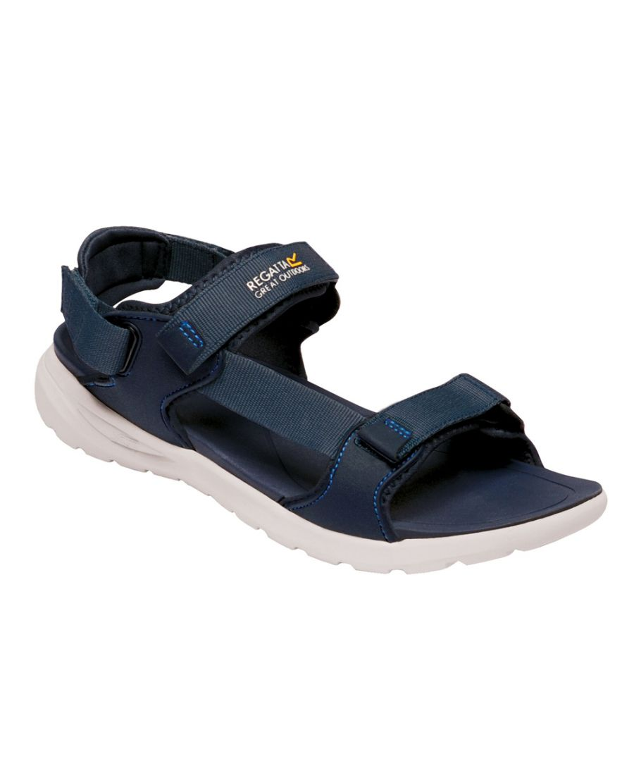 Image for Regatta Mens Marine Web Polyester Lightweight Walking Sandal