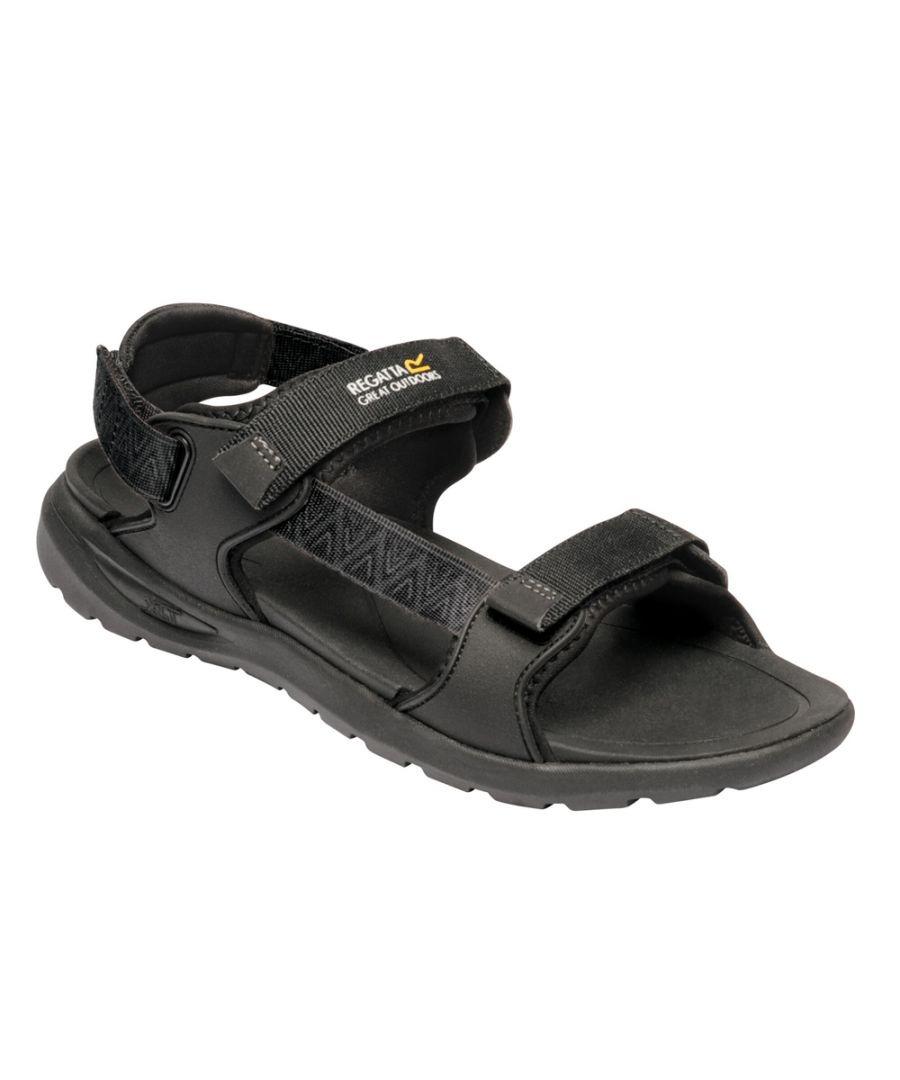 Image for Regatta Mens Marine Web Polyester Lightweight Walking Sandal