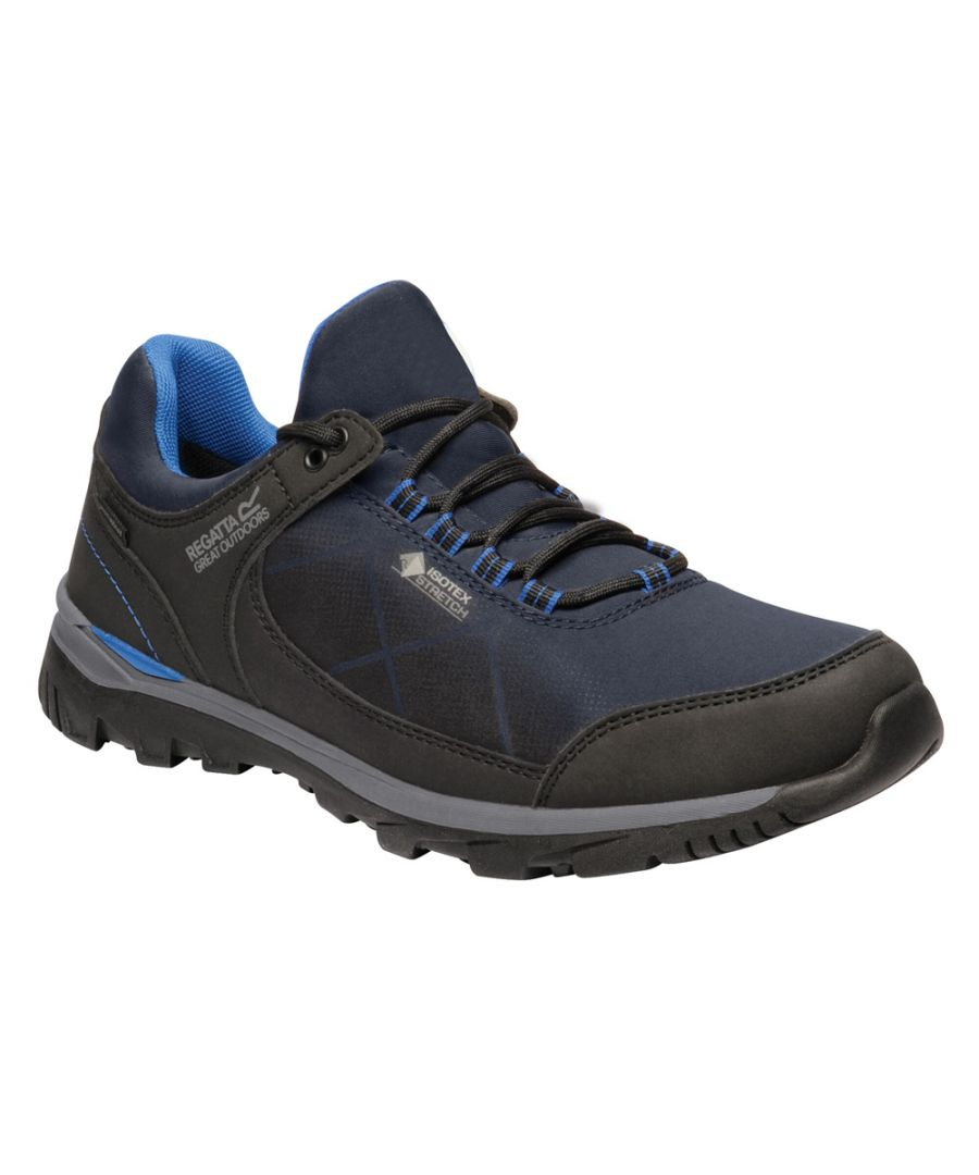 Image for Regatta Mens Highton Stretch Waterproof Walking Shoe