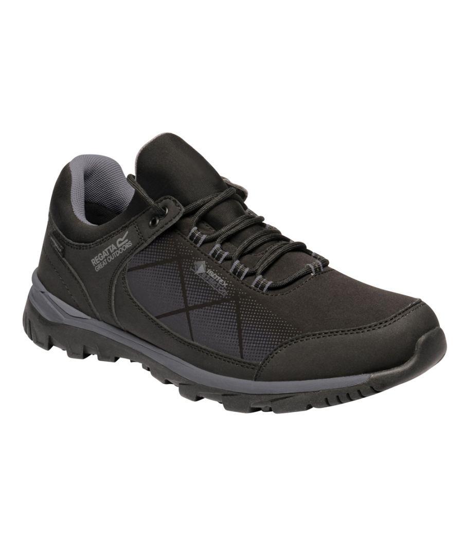 Image for Regatta Mens Highton Stretch Waterproof Walking Shoe
