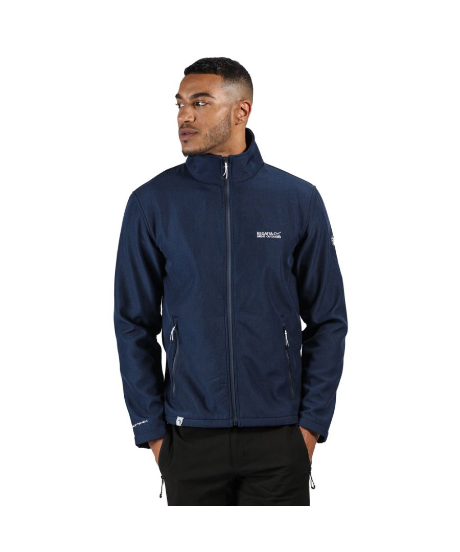 Image for Regatta Mens Cera IV Breathable Full Zip Softshell Jacket
