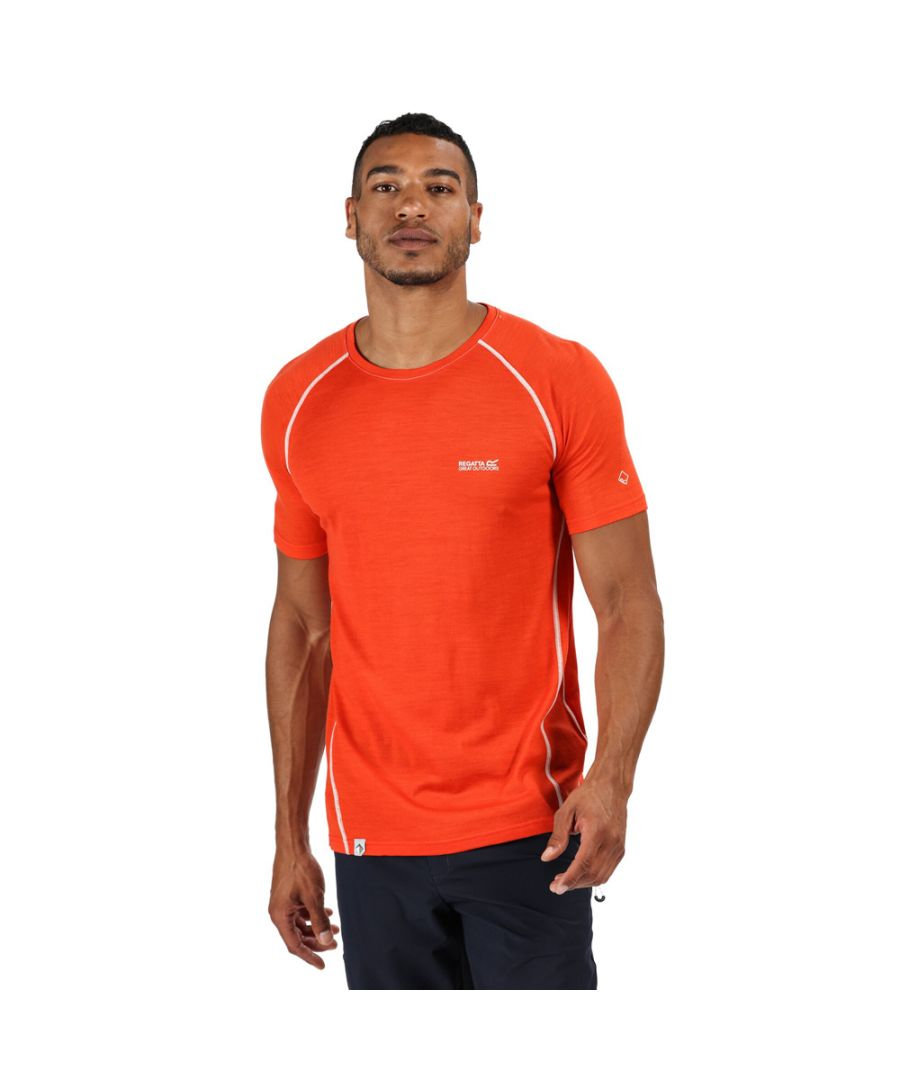 Image for Regatta Mens Tornell II Polyester Wicking Running T Shirt