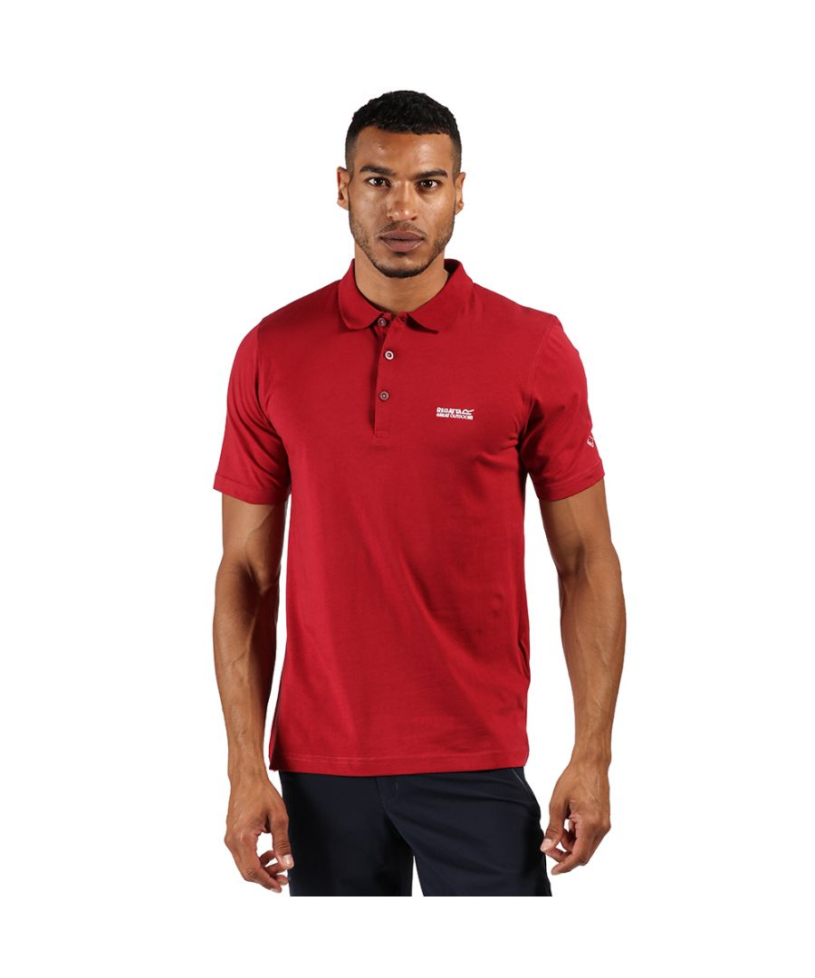 Image for Regatta Mens Sinton Cotton Casual Polo Shirt