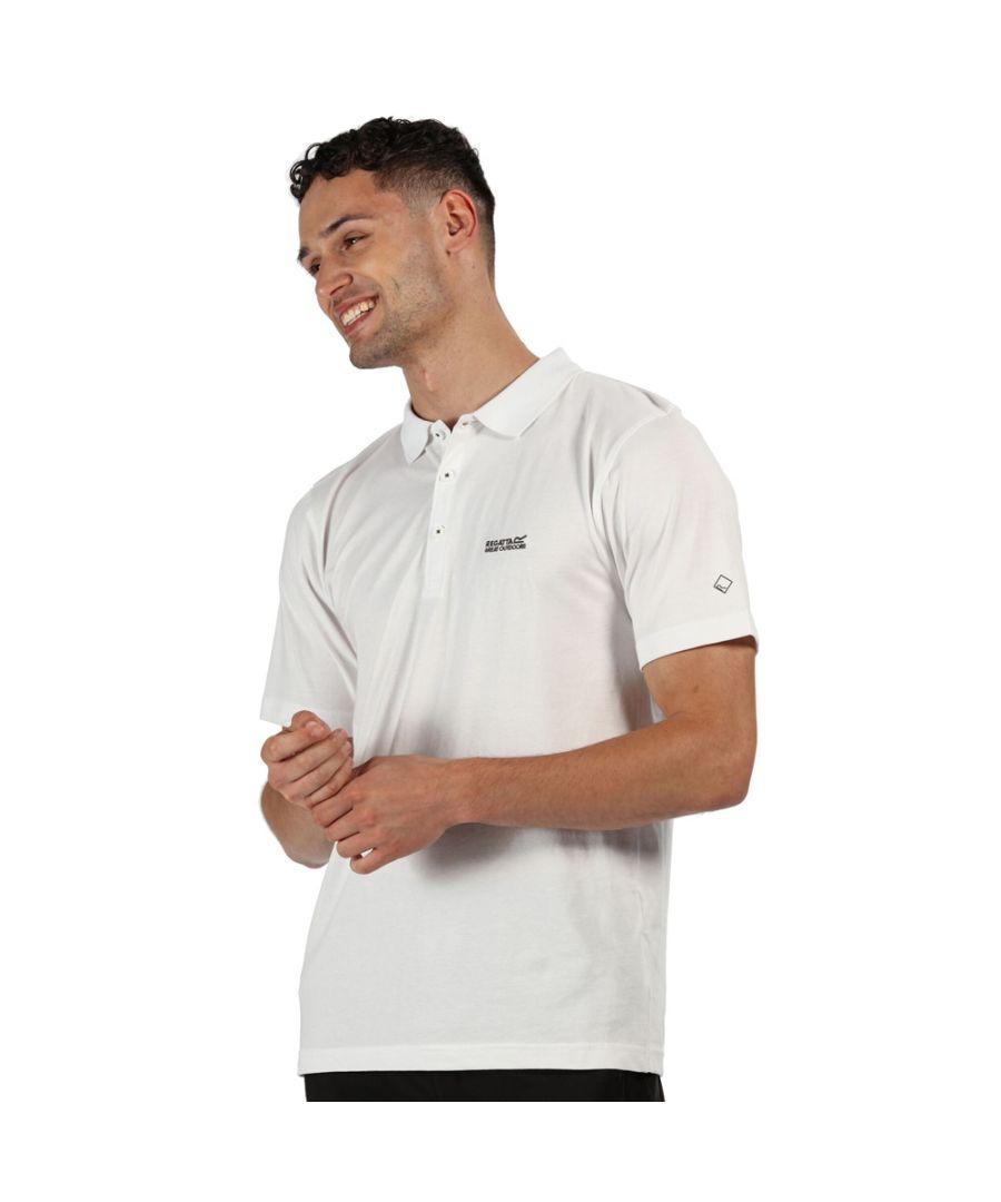 Image for Regatta Mens Sinton Cotton Casual Polo Shirt