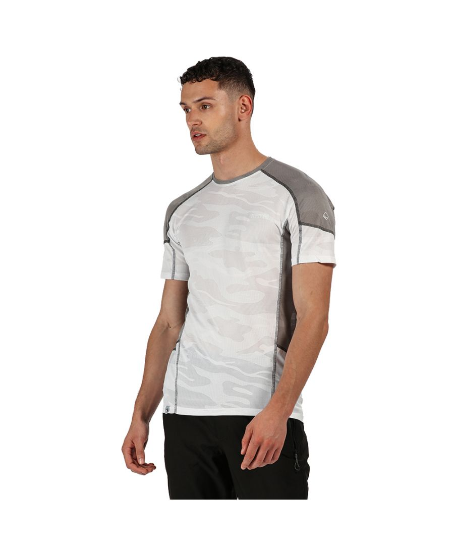 Image for Regatta Mens Camito Quick Drying Wicking Running T Shirt
