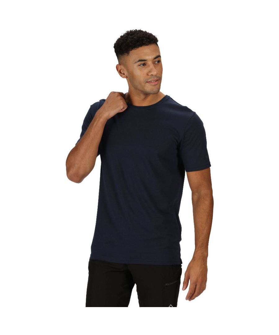 Image for Regatta Mens Tait Coolweave Cotton Soft Touch T Shirt