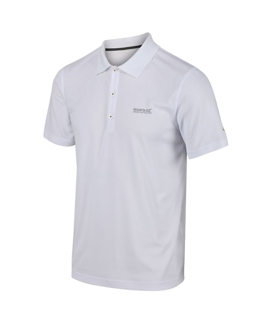 Image for Regatta Mens Maverick V Quick Drying Wicking Polo Shirt