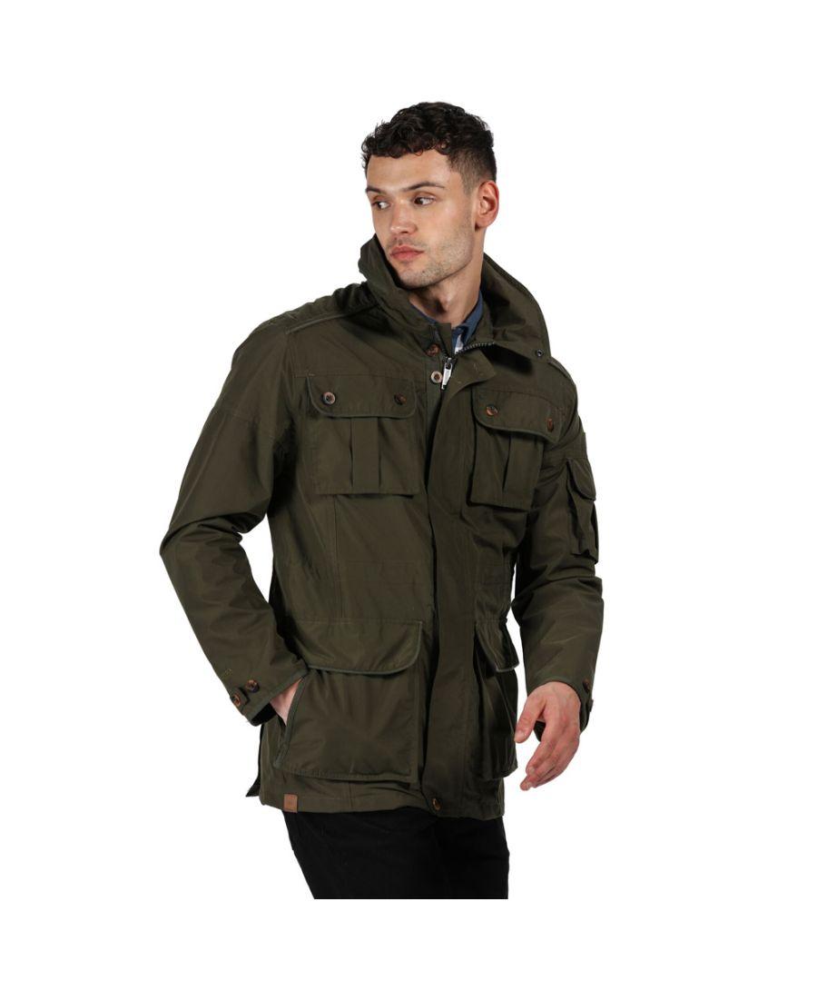 Image for Regatta Mens Elmore Waterproof Breathable Durable Jacket